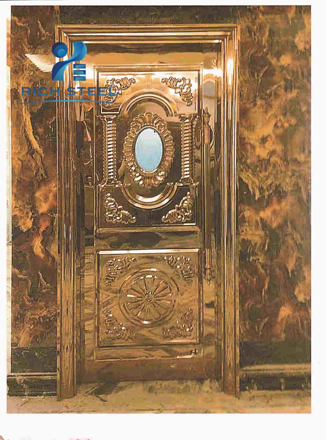 Stainless Steel Single Door Designs Ktv Sound Proof Door