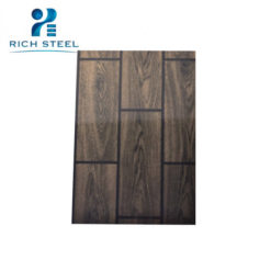 High Quality wood grain exterior wall panel – Rich-Steel